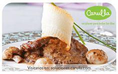Escalopes de ternera con salsa de oporto