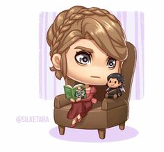 OH. MY. GOD. IT'S NESTA AND A CASSIAN DOLL I WANT ONE AHHHHH THESE ARE SO GREAT I'M OBSESSED