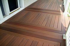 Staining Outdoor Wood Flooring Design Ideas Pinterest