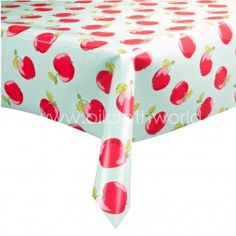 Cotton tablecloth for anniversary with table Clips for camping? Vinyl Table Covers, Oilcloth Tablecloth, Pvc Coat, Red Apple, Outdoor Furniture, Outdoor Decor, Cleaning Wipes, Ottoman, New Homes