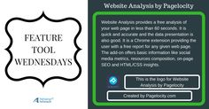 Website Analysis by Pagelocity