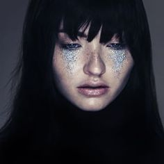 Or totally over the top. | People Are Wearing Glitter Tears Under Their Eyes And It's Actually Catching On