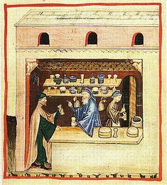 Apothecary: The Tacuinum of Vienna - late 14th or early 15th century