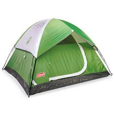Camping Tents - Sundome 3 Person Tent Green and Navy color options -- You can get additional details at the image link.