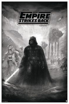 'Star Wars: The Empire Strikes Back' (Variant Edition) by Karl Fitzgerald