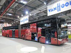Ônibus articulado de dois andares! Van Hool TD931