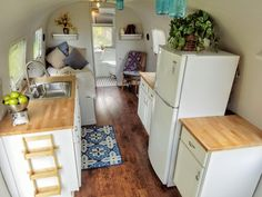 3 years after rescuing her from a farmers field in Montana a lot of elbow grease and a very patient wife my Airstream remodel is finally finished
