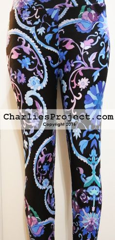 9dd385ef59e2e7 Like Lularoe with the yoga waist band, buttery soft fabric, and limited  prints but no searching! Charlie's Project adult and kid leggings.