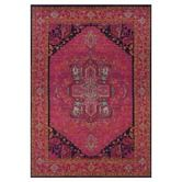 Found it at Wayfair - Aura Updated Traditional Pink/Blue Area Rug