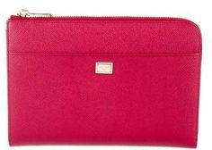 Dolce & Gabbana Leather Tablet Case w/ Tags