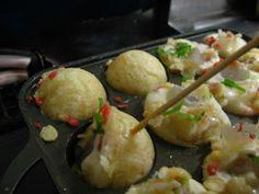 Vegan Takoyaki (konnyakuyaki)
