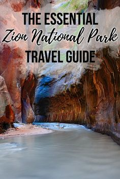 The Essential Zion National Park Travel Guide Plan your trip to Zion National Park with this Zion travel guide, complete with info on Zion's campgrounds, must-do trails, permits, park shuttle & more. National Park Camping, Us National Parks, Parc National, Zion Camping, Nationalparks Usa, Utah Parks, Monument Valley, Utah Vacation, Vacation Ideas