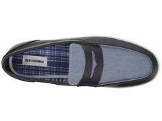 Ben Sherman Payton Loafer Men's Slip on Shoes Navy