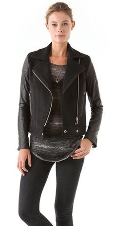 Nicholas Chelsea Biker Jacket inspired by #KatyPerry. Shop #DMLooks at DivaMall.tv
