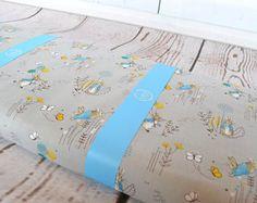Peter Rabbit Fabric, Peter Rabbit childrens fabric, Teal Peter Rabbit Fabric, Beatrix Potter fabric, Teal Beatrix Potter fabric, teal fabric