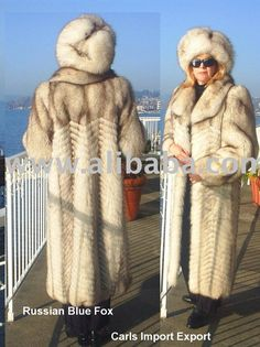 russian fur coats for women | Russian Blue Fox Coat Photo, Detailed about Russian Blue Fox Coat ...