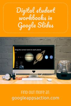 Create interactive digital student workbooks with Google Slides. Includes video tutorial and FREE sample digital workbook.
