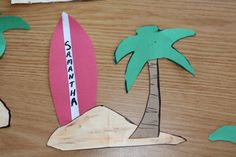 my final door dec for this semester promoted fun in the sun. summer door dec. ra door decorations