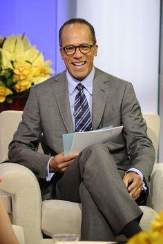 Lester Holt.   NBC news anchor                     M