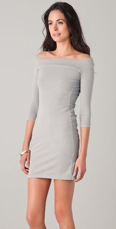 James Perse Off the Shoulder Dress