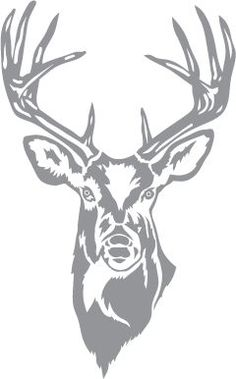 Glass etching stencil of Whitetail Buck. In category: North American Mammals Glass etching stencil of Whitetail Buck. In category: North American Mammals Wood Burning Stencils, Wood Burning Crafts, Wood Burning Patterns, Wood Burning Art, Stencil Animal, Stencil Art, Stenciling, Deer Stencil, Glass Etching Stencils