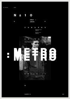 Poster, Metro, by The Slighted