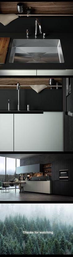 varenna poliform küchenmöbel küche twelve [a]   designbest   küche, Kuchen