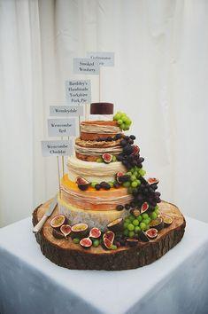 チーズで作るwedding cake♡にて紹介している画像