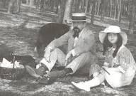 "Claude-Emma ""Chouchou"" Debussy - -Claude Debussy and his daughter Chouchou in Claudio Arrau, Mundo Musical, Claude Debussy, Classical Music Composers, Portraits, Concert Hall, Conductors, Recital, Art Music"