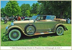 1926 Duesenberg Model A by sjb4photos, via Flickr
