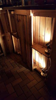 Barra de plataforma de madera reciclada interiores por RusticRemake