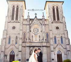 Wedding: San Fernando Cathedral + Pearl Brewery Stable