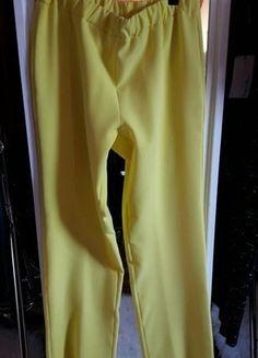 Kaufe meinen Artikel bei #Kleiderkreisel http://www.kleiderkreisel.de/damenmode/hosen-sonstiges/145518515-neu-herrlich-gelbe-hose-toller-stoff-elegant-aus-italien