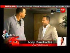 Tony Dandrades habla sobre la entrevista que le realizo a Alex Rodriguez con @RoberSanchez01 @tdandrades #Video - Cachicha.com