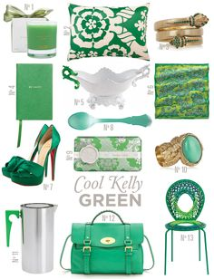 Cool Kelly Green
