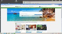 TRIP ADVISOR - (portal który doradza gdzie jechać w podróży hotele, loty , restauracje, najlepsze , twoi znajomi , aplikacje , eko liderzy , centrum pomocy, pisanie recencji odwiedzonego miejsca ), wyszukiwanie hoteli , autopodpowiedź, wbudowane określanie terminu , wybór daty od do z kalendarza