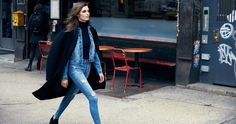 Nobody Denim - Cult Skinny Captive Flattering high rise jeans, designed to sit on or just below the navel. These jeans offer both a sleek silhouette and ultimate comfort. Paired perfectly with a classic tee or denim jacket for a fashion edge style. NewTech Fabric - High Tech yarn construction jeans with powerful stretch, control and recovery. Mid authentic blue, with exaggerated holes and distressing.