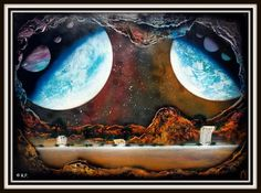 Cave Dream 50 x 70 cm op posterboard ~ € 50,= © Robbin Pronk
