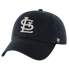 St. Louis Cardinals '47 Brand Franchise Harbor Fitted Hat – Navy Blue