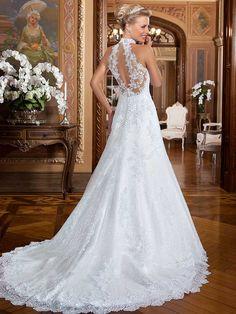 Gardênia 19 - costas #coleçãogardenia #vestidosdenoiva #noiva #weddingdress #bride #bridal #casamento #modanoiva