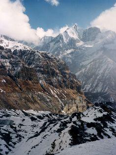 Trekking in Annapurna Mountains