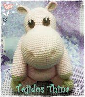 Blog sobre patrones gratis de tejidos al crochet y amigurumi Teddy Bear, Baby Shower, Toys, Animals, Crochet Toys, Craft, Crochet Crafts, Crochet Hippo, Tejidos