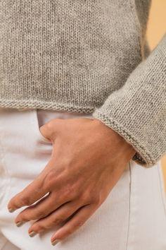 Kostenlose Anleitung: Pullover mit Farbflächen - Initiative Handarbeit