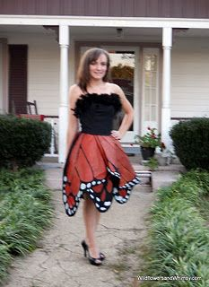 butterfly dress tutorial - Halloween!