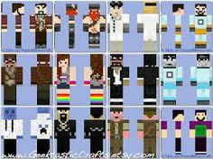 Minecraft youtubers!!