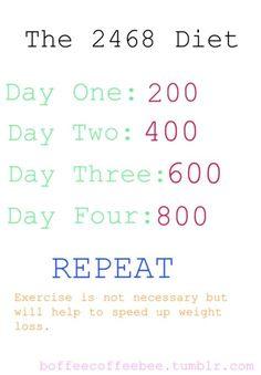 programma di dieta pro ana per una settimana