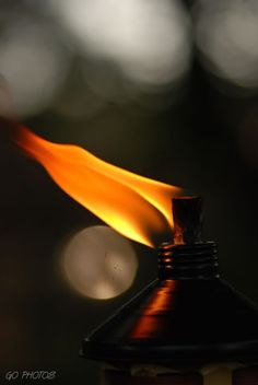 flame . . .