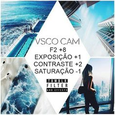 VSCO- Como deixar as fotos com efeito Tumblr