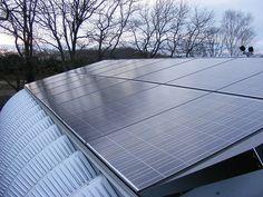 metal-building-solar-powered-steel-garage | Elizabeth Anderson | Flickr