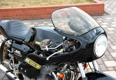 Kawasaki Rickman Z 900 by M-Engineering
